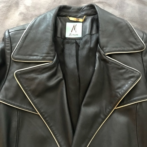 Marciano Jackets & Blazers - Marciano Leather Jacket Black Guess Trench Coat M